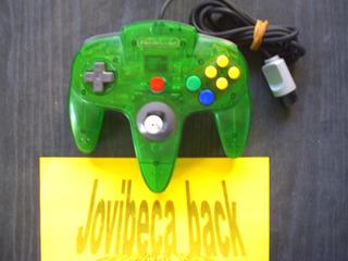 Control Nintendo 64 Green Jungle