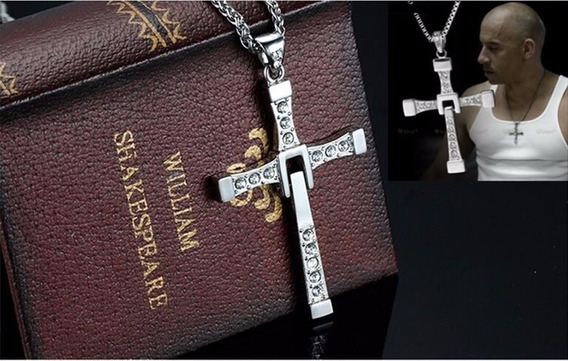 Velozes E Furiosos Crucifixo E Cordão Vin Diesel - Toretto