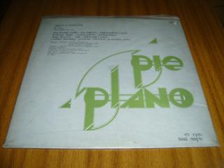 Vinilo Split (pie Plano) (top) Rock Chileno De Los Años 80