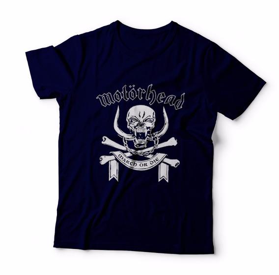 Camisa Blusa Camiseta Rock Motorhead Novas