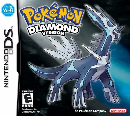 Pokemon Diamond Version - Ds / Dsi / 3ds - Impecável Top