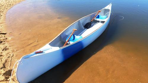 Imagen 1 de 6 de Canoas Canadienses 5 M Eslora, O,90 M Manga.35 Kgs Aprox.