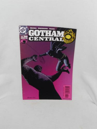 Imagen 1 de 1 de Gotham Central Numero 30 -  D C Comics 2005.