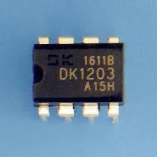 Ci Dk1203 , Dip8 8 Pinos, Oscilador De Fonte Chaveada 1203