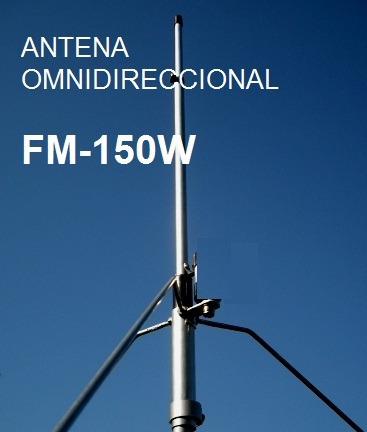 Antena Paragüita Fm 97-107 Mhz. 150w
