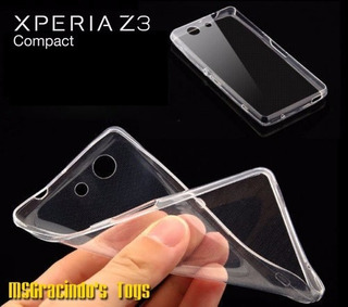 Sony Xperia Z3 Mini Capa Gel Transparente Ultra Fina 0.4mm