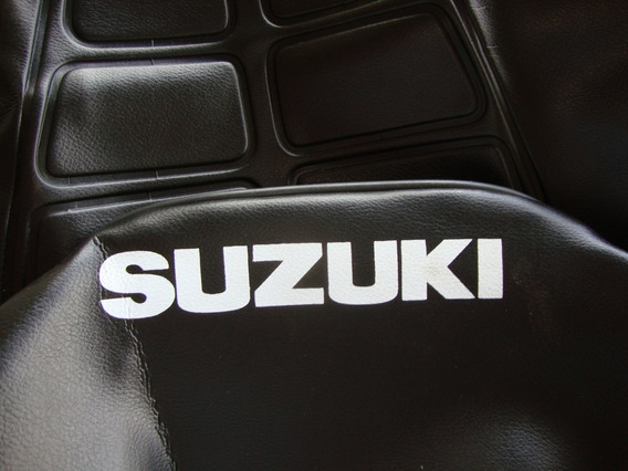 Capa Banco Intruder 125 Modelo Original C/ Escrita Suzuki