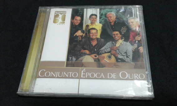 Cd Conjunto Época De Ouro - Warner 30 Anos