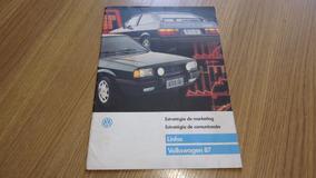 Folder Brochura Venda Linha Vw 87 Gol Gts Parati Voyage