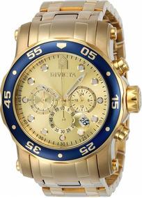 Relógio Invicta Pro Diver 23669 Troca Pulseiras Lançamento