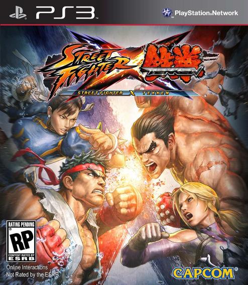 Jogo Ps3 Street Fighter X Tekken Novo Lacrado E Original