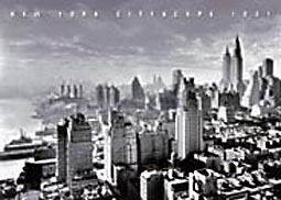 Poster De New York Cityscape 1931 - 50 X 40 Cm