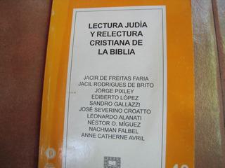 Lectura Judia Y Relectura Cristiana De La Biblia. V/a.2001
