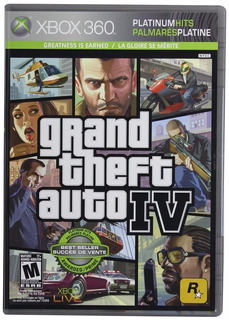 Gta Iv 4 Para Xbox 360