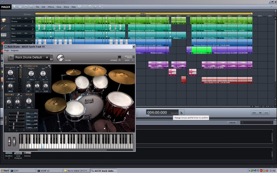 Magix Music Maker 2017 Premium Full+samples-3 Dvds-promoção!