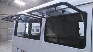 Food Truck Janelas Sprinter Ducato Master Van