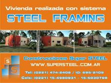 Steel Framing - Construccion En Seco - Durlock La Plata