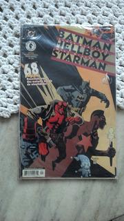 Hq Especial Batman/hellboy/starman - Nazistas Das Trevas