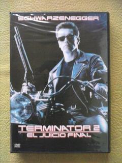 Terminator 2 - El Juicio Final Pelicula Dvd Original Nuevo