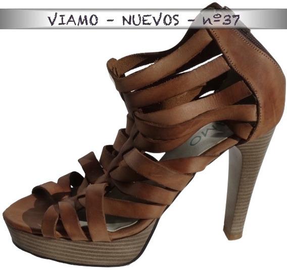 Zapatos Viamo Sin Uso Real - Feria