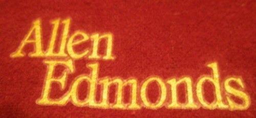 Estuche De Zapatos De Allen Edmonds