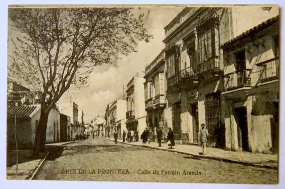 Postal Jerez De La Frontera Calle Fermin Aranda