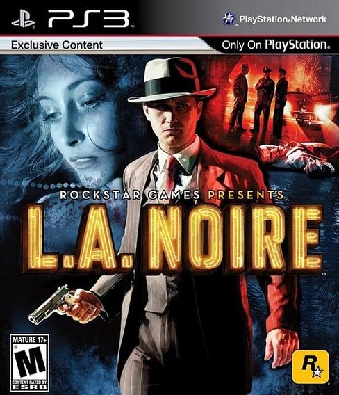 Jogo L.a Noire Playstation 3 Ps3 Investigação Pronta Entrega