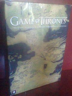 Box Game Of Thrones As 3 Temporadas 15 Dvds Original Lacrado