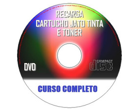 Dvd Curso Completo De Recarga A Jato De Tinta E Toner