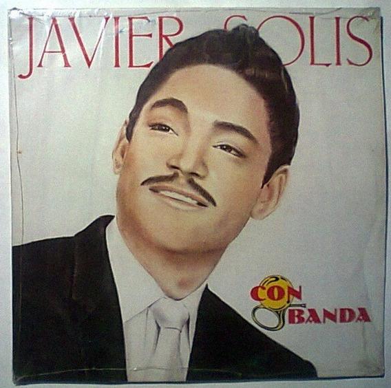 Javier Solis Con Banda Lp Impecable Muy Raro Traslucido