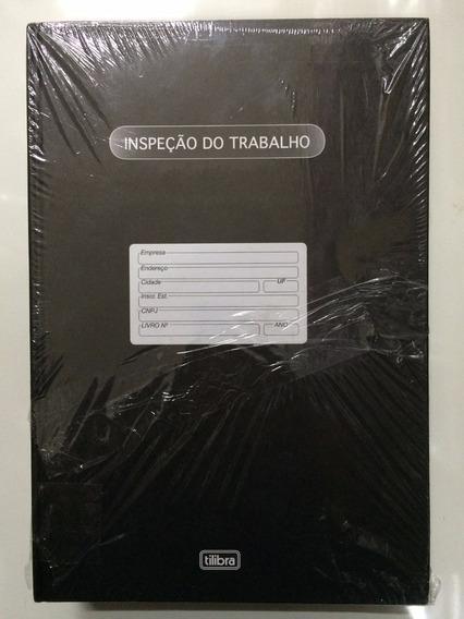 Livro Inspeção Do Trabalho 100 Folhas Tilibra Pacote C/5 Un.