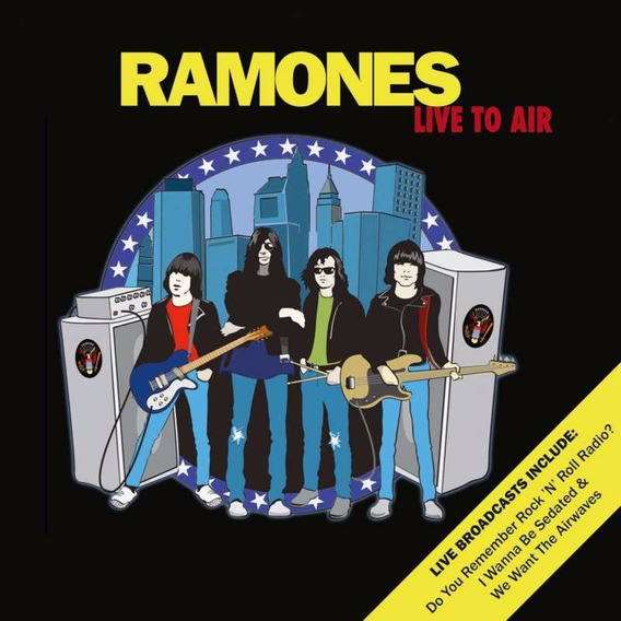 Ramones - Live To Air Cd