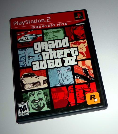Grand Theft Auto Iii Gta 3 Original Completo - Ps2