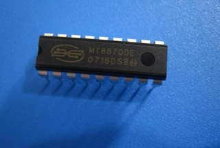 Circuito Integrado Mt8870 8870de Dtmf Decoder Decodificador
