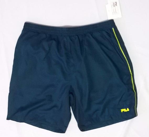 Pantaloneta Fila Original Verde Short Elegante Talla L Ofert