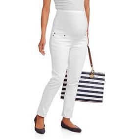 3aec87903 Oh! Pantalones De Maternidad Mamma Completa De Panel Flaco E