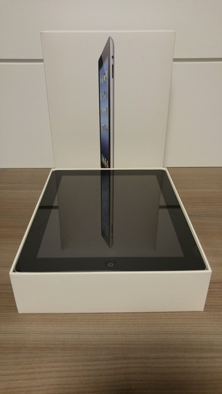 iPad 3 - Semi Novo - 64 Gb - Wi-fi/4g - Preto - Md368bz/a