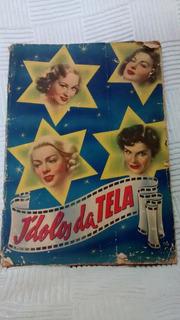 Álbum Ídolos Da Tela-completo-450 Figurinhas - Ano 1958