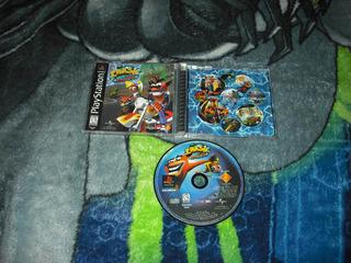 Crash Bandicoot 3 Warped 1era Edicion Buen Estado Ps1