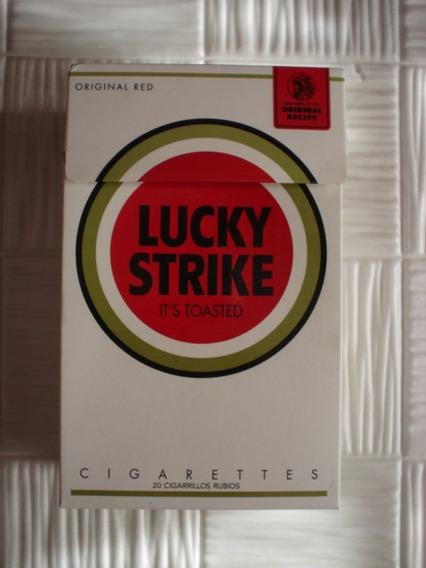 Box Gigante Cigarrillos Lucky Strike Edicion Limitada Vacia