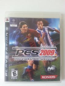 Jogo Pro Evolution Soccer 2009 - Ps3. Item Colecionador
