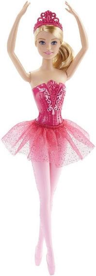 Barbie - Boneca Bailarina Barbie Rosa Dhm42