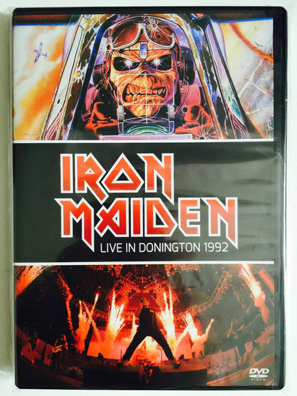 Dvd Iron Maiden Live In Donington 1992