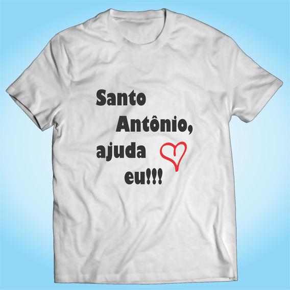 Camisa Santo Antônio - Casamento - Amor - Personalizada