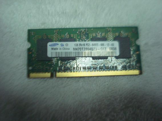 Memoria De Notebook Samsung 1gb 2rx16 Pc2