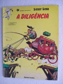Lucky Luke - A Diligência - Editora Martins Fontes - 1984