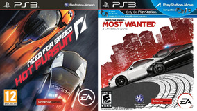 Need For Speed Most W. + Hot Persuit Ps3 Psn - Midia Digital