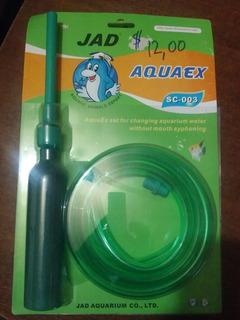 Aqua Quito - Manguera Limpiadora - Succionadora De Peceras