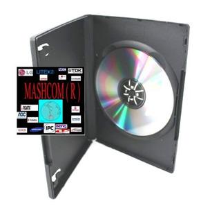 Caja Para Dvd Simples De 14 Mm X 50 (acepto Mercadopago)