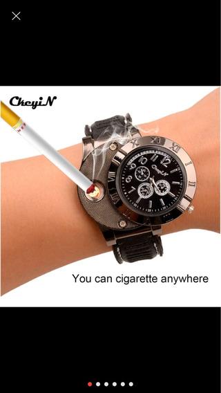 Relógio Com Acendedor De Cigarros
